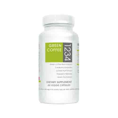 Green Coffee Bean 1234 Fat Burner