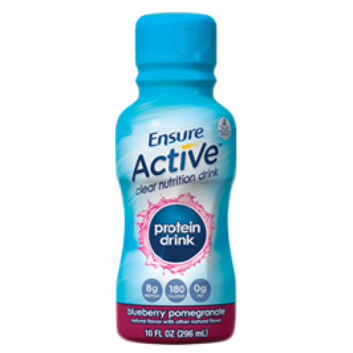 Ensure Active Clear Protein Drink Blueberry Promegrante