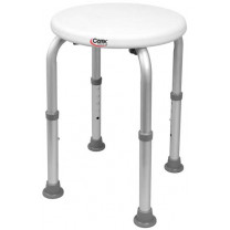 Compact Round Shower Stool