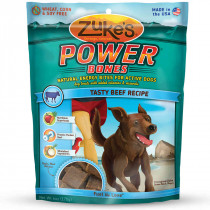 Power Bones Natural Endurance Treats for Dogs Beef