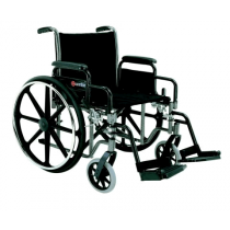 Deluxe Manual Wheelchair by Merits