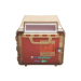 Wall Cabinet for 5.4 Quart Brown  Sharps Container