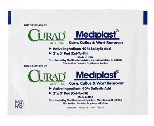 curad mediplast corn wart callus remover 4c2