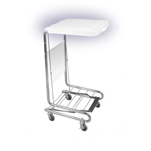 Steel Medical Hamper Stand
