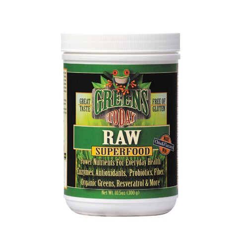 Greens Today Organic Frog Raw Superfood Dietary Supplement