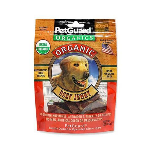 PetGuard Organic Beef Jerky