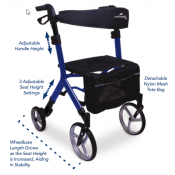 ProBasics Voyager Euro-Style Rollator