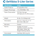 DeVilbiss 525DS Oxygen Concentrator Specifications