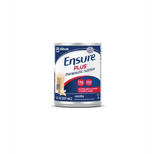 Ensure Plus 8 Ounce Cans Strawberry - 8 oz
