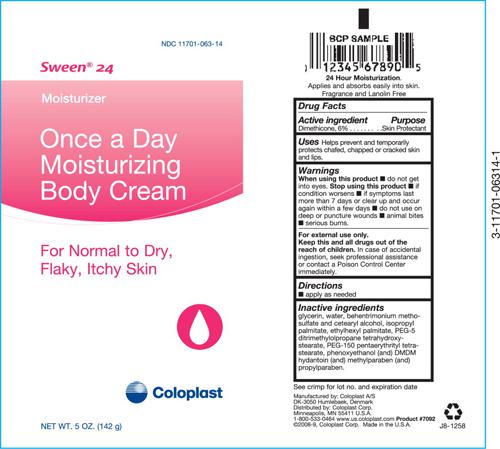 sween 24 once a day moisturizing body cream f8b