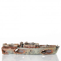BioBubble Decorative Sunken Torpedo Boat