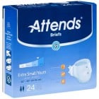 Attends Briefs Heavy Absorbency