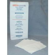 McKesson 94442000 Non-Woven Sponges 4x4 Inch 4 Ply