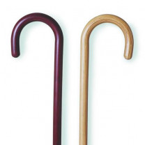 Mountain Properties Tourist Handle Wooden Cane