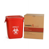 Sharps Assure 28-Gallon Retrieval Program