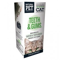 Homeopathic Natural Pet Cat Supplement - Teeth and Gums