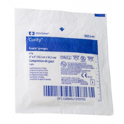 Covidien 2187 Curity 4x4 Gauze 8 Ply - Sterile