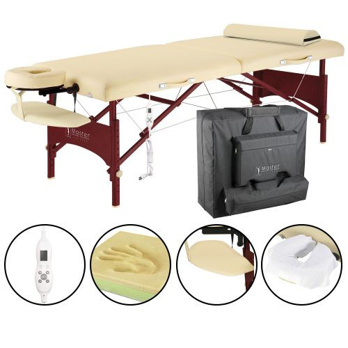 Caribbean Deluxe Therma-Top Massage Table Package