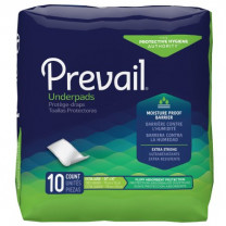 Prevail Disposable Underpad Light Absorbency
