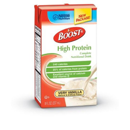 BOOST HIGH PROTEIN Vanilla - 8 oz Tetra Brick