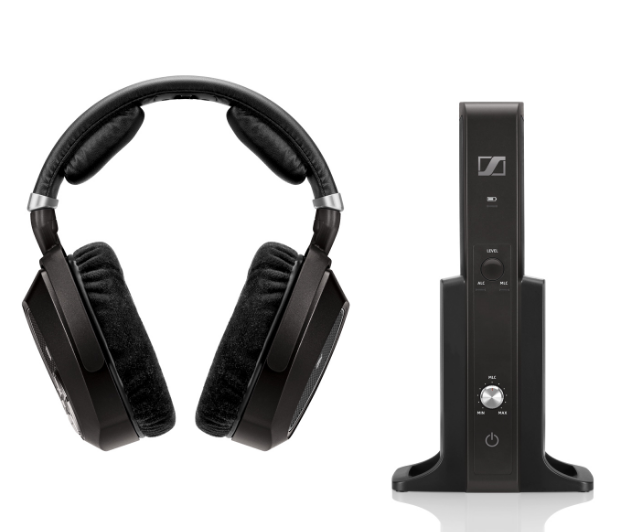 sennheiser rs 185 wireless headphone system with manual volume control af6