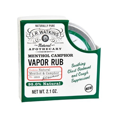 JR Watkins Menthol Vapor Rub