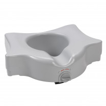 Heavy Duty Locking Raised Toilet Seat, 5""