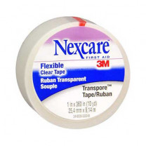 1 Inch Nexcare Transpore Clear Tape