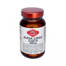 Olympian Labs Alpha Lipoic Coenzyme Q10 200 mg