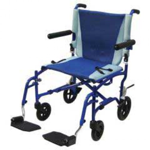Transport Chair Aluminum by Drive