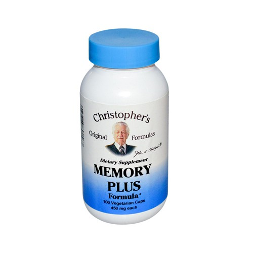 Christophers Original Formulas Memory Plus Formula 450 mg