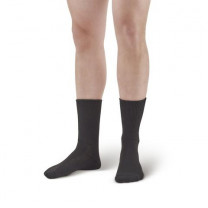 AW Style 737 Polyester Diabetic Crew Socks - Two Pack
