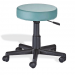 Pneumatic Stool with Padded Seat