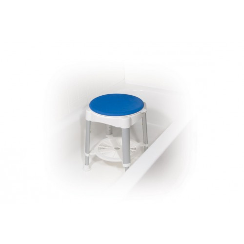 Bath Stool Shower Chair with Padded Rotating Seat