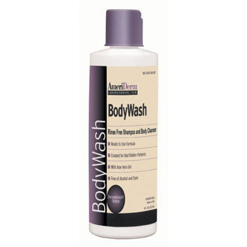 Rinse Free Body Wash 8Oz