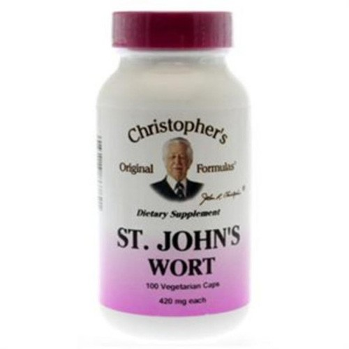 Dr Christophers Formulas St Johns Wort Dietary Supplement