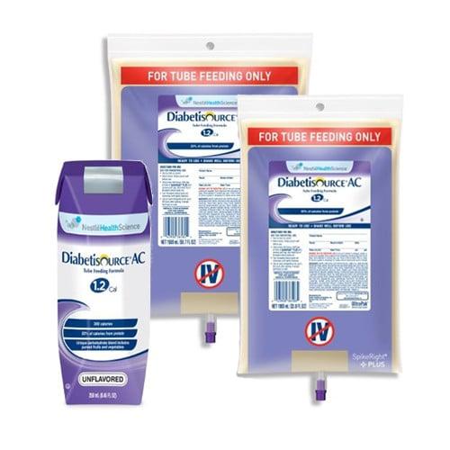 DIABETISOURCE AC 1.2 Tube Feeding Formula   Nestle
