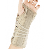 Wrist Brace with Soft Fit Suede Finish