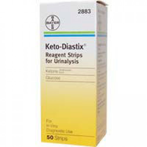 Keto Diastix Reagent Strips