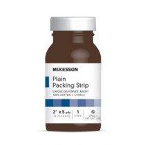 McKesson 2 in x 5 yds Plain Packing Strips, Sterile - 61-59420