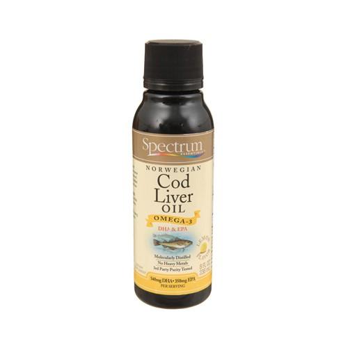 Spectrum Essentials Cod Liver Oil with Lemon Lemon
