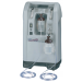 NewLife Intensity Oxygen Concentrator Dual Flowmeter 8 Liter