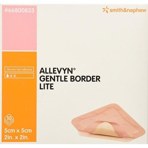 Smith and Nephew Allevyn 66800833 Gentle Border Lite