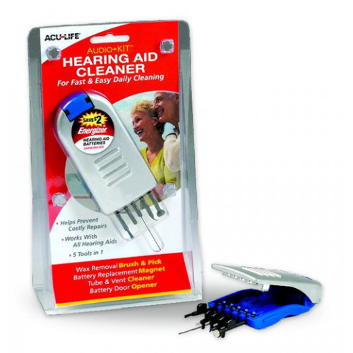 Audio Kit Hearing Aid Cleaner