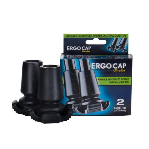 Ergocap Ultralite All Terrain Universal Cane Rubber Tips