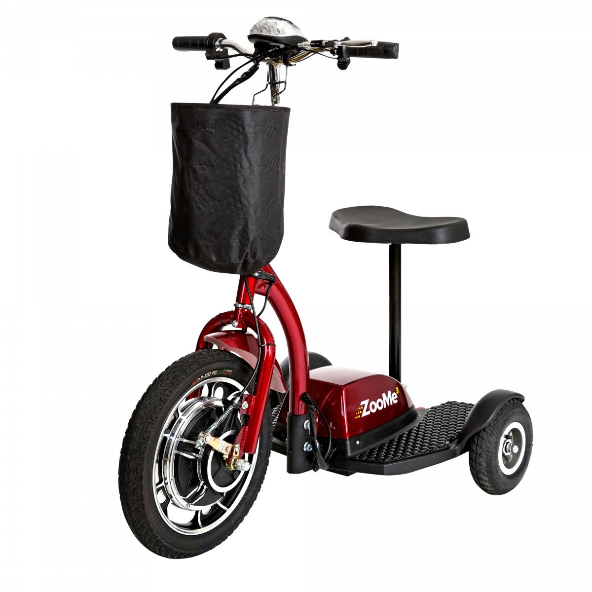 zoome 3 wheel recreational scooter 828