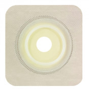4.25 Inch x 4.25 Inch, 1.25 Inch Stoma Opening, Pre-Cut w/ Flexible Tape Collar