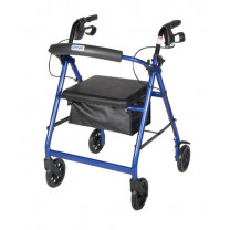 Lightweight Rollator with Fold Up and Removable Back Support by Drive