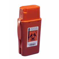 1 Quart Red SharpSafety Sharps Container Transportable 8303SA
