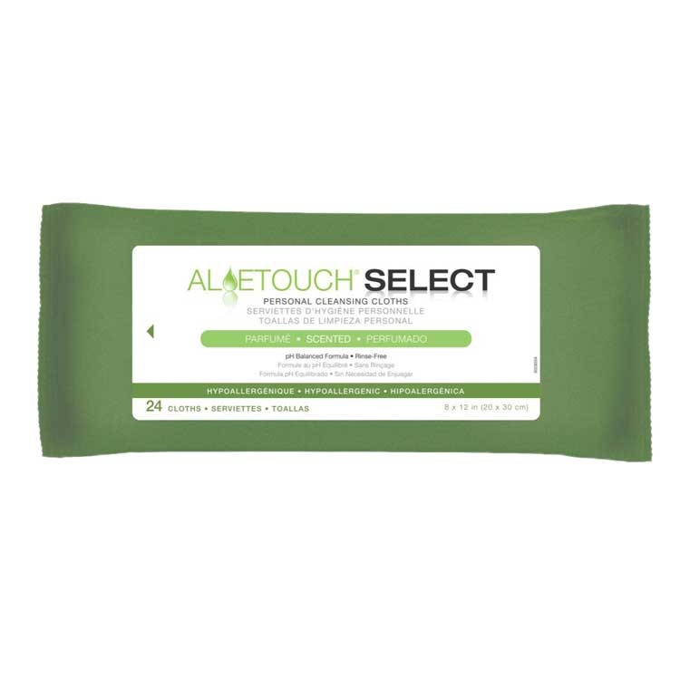 Medline Aloetouch Select Personal Cleansing Cloths